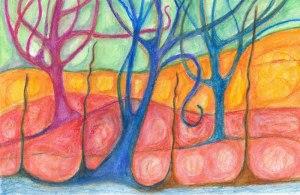 TreesColoredPencil1
